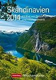 Skandinavien 2014: Harenberg Wochenplaner. 53 Blatt mit Zitaten und Wochenchronik