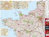 echange, troc Blay-Foldex - France 1/4 Nord Ouest - Carte murale plastifiée
