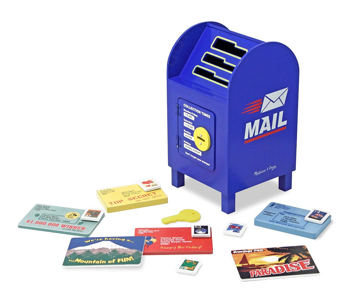 mailbox preschool pretend play