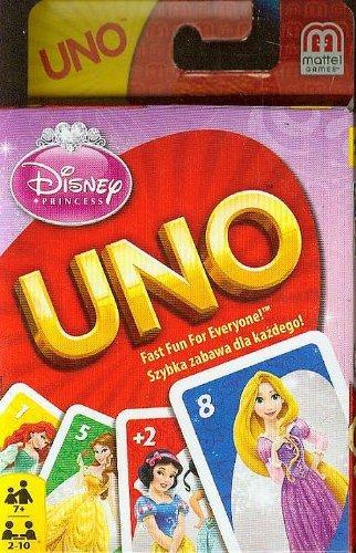 Disney Princess UNO Card GameB0000DG5TC : image