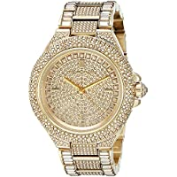 Michael Kors MK5720 Camille Gold-Tone Crystal Women's Watch