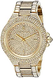 Michael Kors Women's MK5720 Camille Gold-Tone Crystal Watch