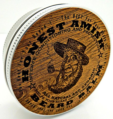 honest amish beard balm new large 4 oz twist tin grow beard fast. Black Bedroom Furniture Sets. Home Design Ideas