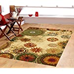 Furnish my Place 770 Floral Abstract Area Rug