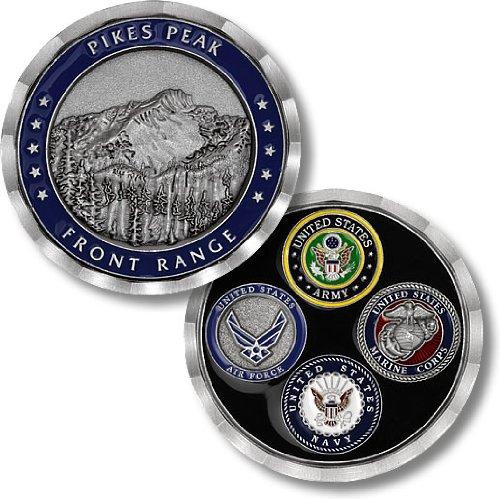 Pikes Peak Front Range Challenge Coin
