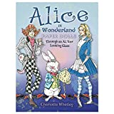 Alice in Wonderland Paper Dolls - Through an All New Looking Glass (Paperback)