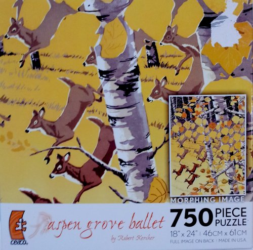 "Robert Kercher ""Aspen Grove Ballet"" Puzzle by Ceaco"