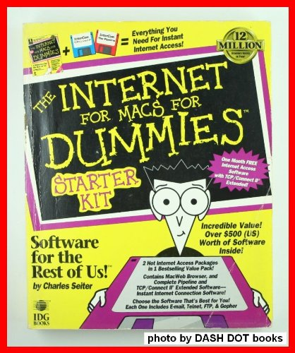 The Internet for Macs for Dummies Starter Kit