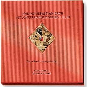 Suite No. III in C major for Solo Cello, BWV 1009:5. Bour�e I