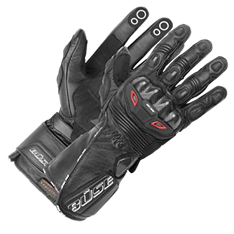 BUSE Motegi Paire de Gants pour moto de course Noir