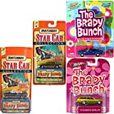 Brady Bunch 4 Car Set Family Station Wagon - Hot Wheels Johnny Lightning Barracuda Retro Entertainment Plymouth & Matchbox TV Star car