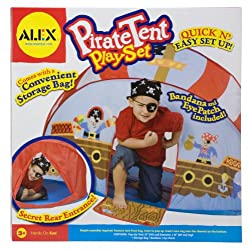 ALEX Toys - Pirate Pop-Up Tent Play Set 788