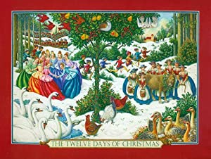12 Days of Christmas Jigsaw Puzzle
