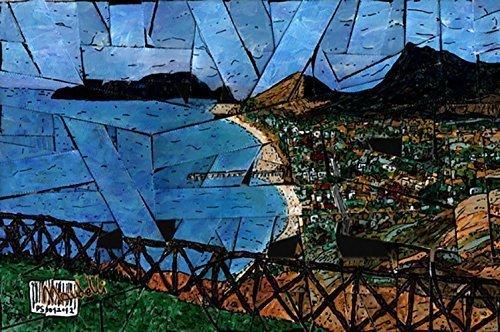 porto-santo-by-maudelli-strip-canvas-original-porto-santo-portogallo-or-ps-01-strip-di-tela-dipinta-