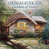 Thomas Kinkade Gardens of Grace 2018 Wall Calendar