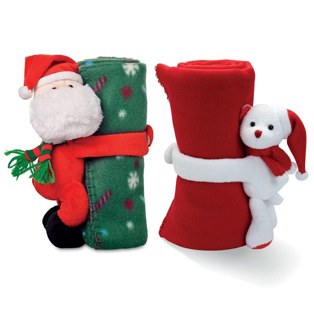 Christmas Soft Fleece Blanket / Throw - Kids Stocking Filler (Polar Bear)
