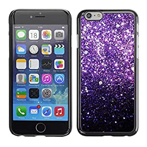 Omega Covers - Snap on Hard Back Case Cover Shell FOR Apple Iphone 6 Plus / 6S Plus ( 5.5 ) - Glitter Bling Shiny Stars Iridescent