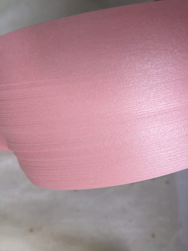 German Froebel Star Strip Weaving Papers, 52 Pack, Shimmer Pink (1 inch) (Color: pink, Tamaño: 1 inch)