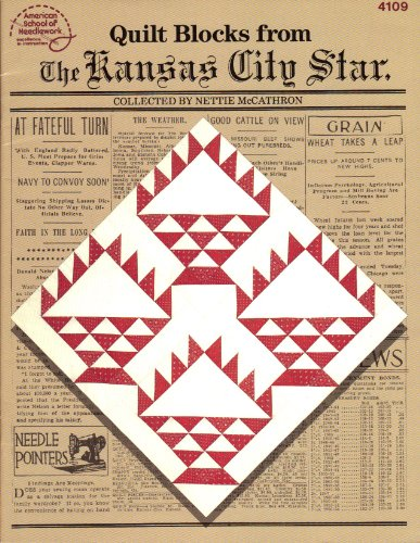 Quilt blocks from the Kansas City Star (American School of Needlework)