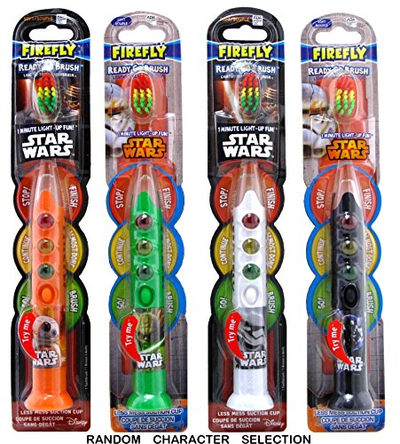 Firefly Toothbrush Star Wars Ready 1-Minute Timer (Colors May Vary) (2 Pack)