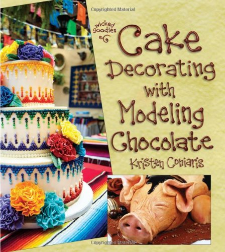 Cake Decorating with Modeling Chocolate by Kristen Coniaris