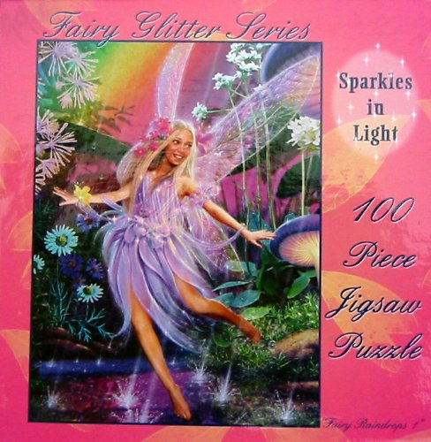"Sparkle Fairies ""Mushroom"" 100-Piece Puzzle - 1"
