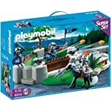 PLAYMOBIL 4014 - SuperSet Knight's Fort + 4867 - Lion Knight's Ballista