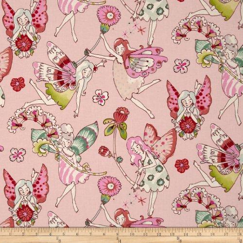 Everyday Eden Flower Fairies Pink/Berry Fabric пароочиститель eden sws 178