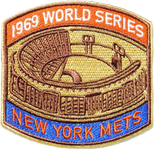 1969 WORLD SERIES NEW YORK YANKEES METS MLB Baseball Team Logo Jacket T Shirt Patch Sew Iron on Embroidered Badge Sign at Amazon.com
