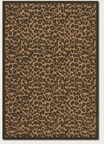 Urbane Captivity Tan / Brown Outdoor Rug Size: 2' x 3'7