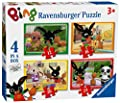 Ravensburger Bing Bunny Puzzles (Pack of 4)