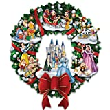 The Wonderful World Of Disney Character Christmas Wreath by The Bradford Exchange