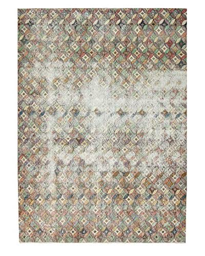 """nuLOOM One-of-a-Kind Hand-Knotted Vintage Turkish Overdyed Rug, Multi, 6' 7"""" x 8' 11"""""""