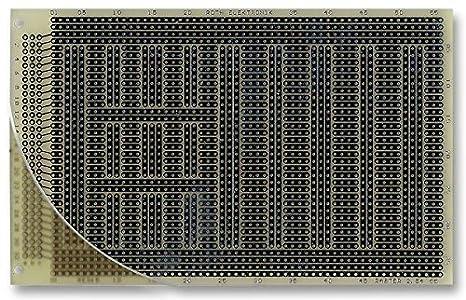 ROTH ELEKTRONIK Pcb 2,54 mm, Eurocard FR4 Game Direct Par Points