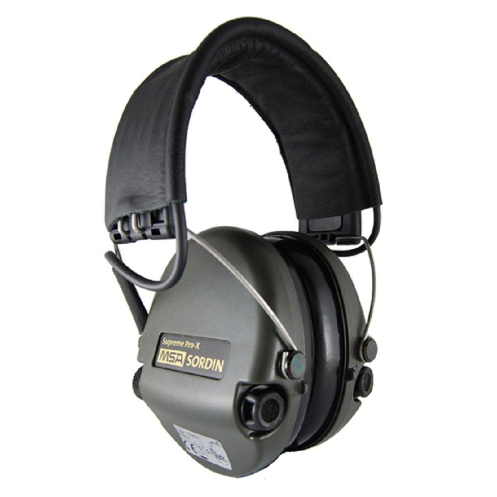 MSA Sordin Supreme Pro X  Leder Stirnband AUXEingang  Kritiken und weitere Informationen