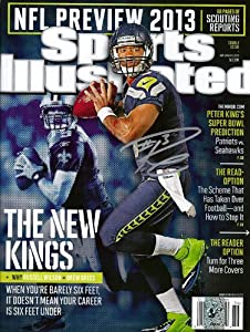 Buy Russell Wilson Autographed Sports Illustrated Magazine RW Holo ID #62123