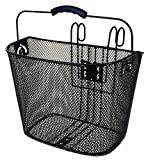 Ventura Easy Mount Mesh Bicycle Basket (Black)