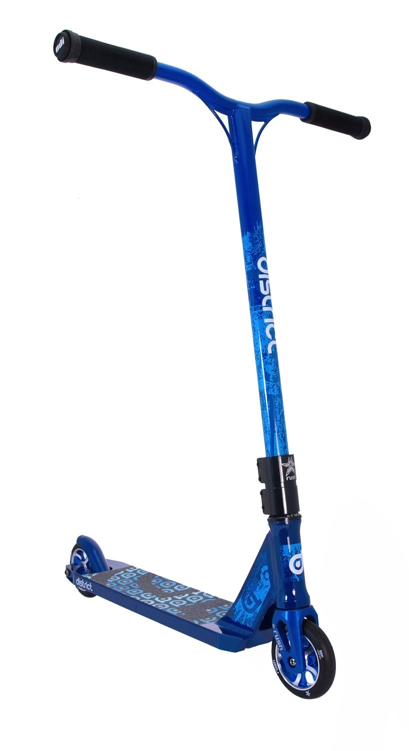 District Scooters Blue District Dk2 Blue Custom Scs