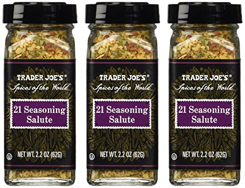 Trader Joe's 21 Seasoning Salute 2.2oz (Pack of 3) (21 Seasoning Salute compare prices)