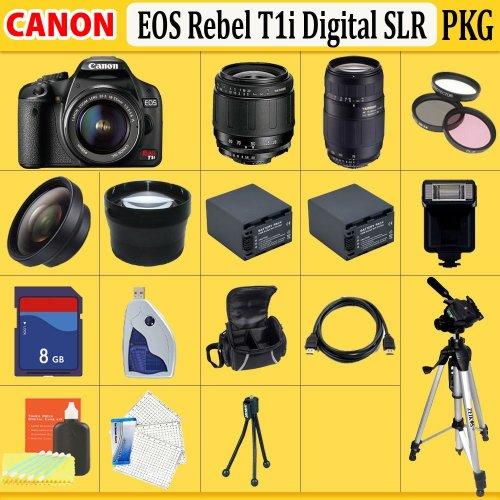 canon rebel t1i accessories. Canon EOS Rebel T1i (500d) SLR