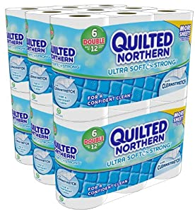 Quilted Northern Ultra Soft and Strong  Bath Tissue, 36 Double Rolls