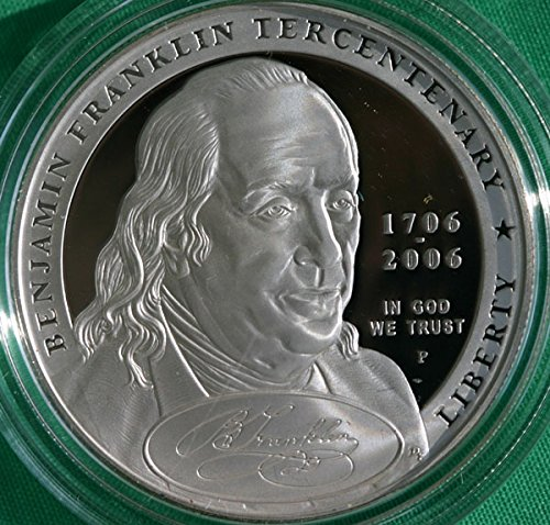 2006 Commemorative Ben Franklin Founding Father Dollar OGP US Mint