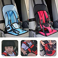 Di Grazia Multi function Adjustable Baby Car Cushion Seat with Safety Belt - For Babies & Toddlers
