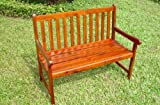 Thames Hardwood 2 Seater Garden Bench