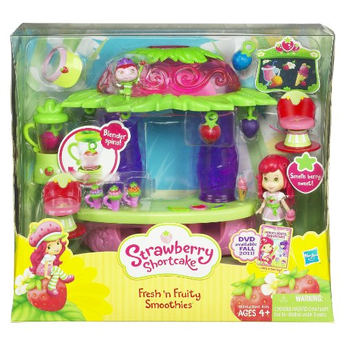 Hasbro Strawberry Short Cake Smoothie Maker Home Garden