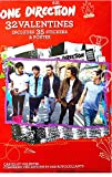One Direction 32 Valentines Includes 35 Stickers and Poster