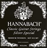 Hannabach 815MT Medium Tension, Full Set Classical Guitar Strings