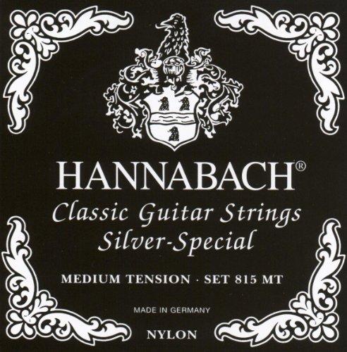 Hannabach  Klassikgitarrensaiten Serie 815 Medium Tension Silver Special - Satz