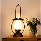 Vintage House Table Lamp Bedroom Bedside Decoration Table Lamps Creative Retro Nostalgic Old Oil Lamps