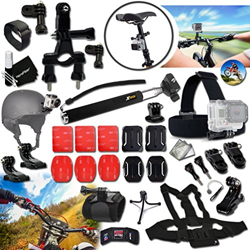 xtechr-racing-accessories-kit-for-gopro-hero-4-3-3-2-1-hero4-hero3-hero2-hero-4-silver-hero-4-black-